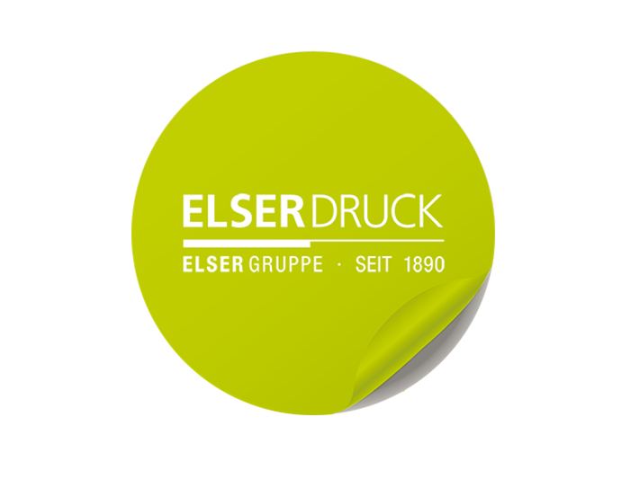 Aufkleber Elser Druck GmbH