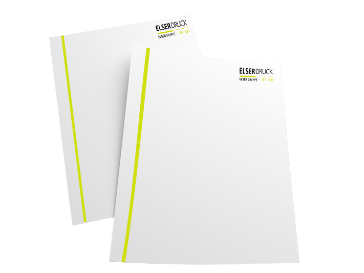 Briefpapier Elser Druck GmbH