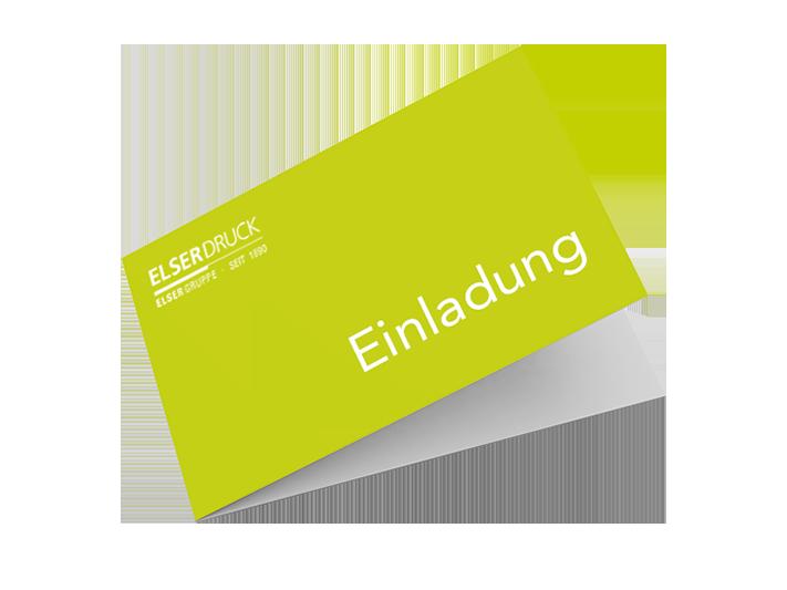 Einladung Elser Druck GmbH